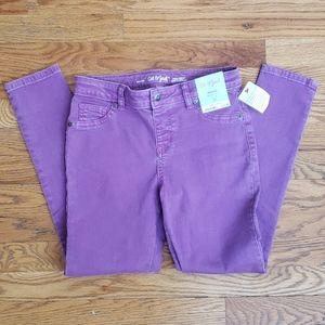 NWT Cat & Jack Lavender Jeggings Girl's Size 12